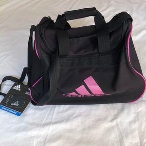 Women Adidas Diablo Small Duffel Bag Black/Pink
